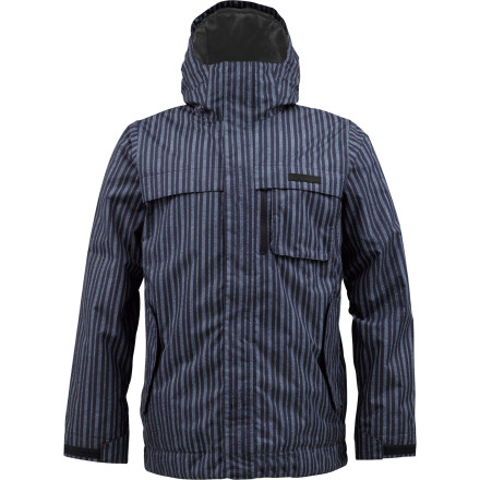 Snowboard Hunt powder with the Burton Poacher Jacket and spare the wildlife (and your wallet). DryRide Durashell keeps the elements out while zonal insulation holds warmth in, so you can comfortably poach fresh lines all day. - $84.95