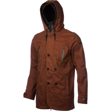 Snowboard The Cappel Clampdown Jacket hooks up some workwear-inspired style with enough weather protection to keep you shredding when the clouds roll in and unleash. Features Cappel's slimmed-down Tailored Fit for a clean look that still lets you move. - $121.48