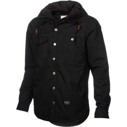 Snowboard It's a flannel button-down, it's a hoodie, it's a jacket. It's the Holden Tarquin Jacket, and it's your new waterproof breathable, insulated riding buddy. - $143.96