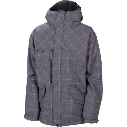 Snowboard The 686 Reserved Colony Insulated Jacket hooks up plenty of waterproofing power and just enough insulation to keep you warm on the mid-winter days without roasting you alive in the spring. Features a subtle herringbone plaid pattern for street-inspired style you can run on the hill. - $175.00