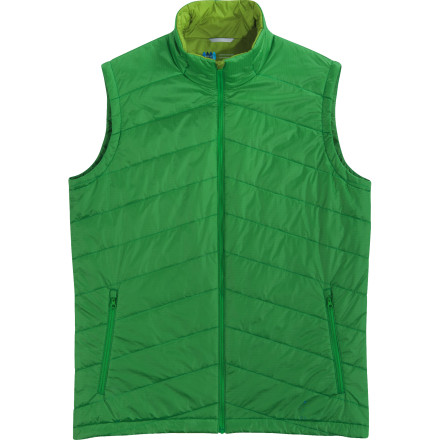 Camp and Hike The Ibex Men's Aire WLI Vest, new for 2012, packs toasty-warm wool insulation to protect you from cold conditions on the mountain. This semi-fitted vest is ideal for layering underneath a shell when you're skiing, or you can zip this vest over a long-sleeve baselayer for hiking in mild weather. The clever engineers at Ibex designed this vest to pack into its own interior mesh pocket to make it easy to take along even if space in your backpack is limited. - $151.22