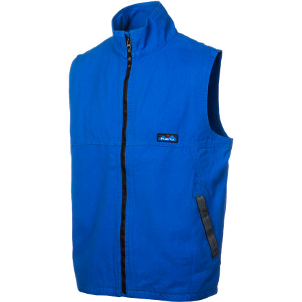 The Kavu Baranof Vest mixes smooth style and straight-up utility. This vest is a little bit work and a little bit fun, perfect for drinking beers with your buddies when you're sitting around a campfire or standing around an open car hood. - $41.22