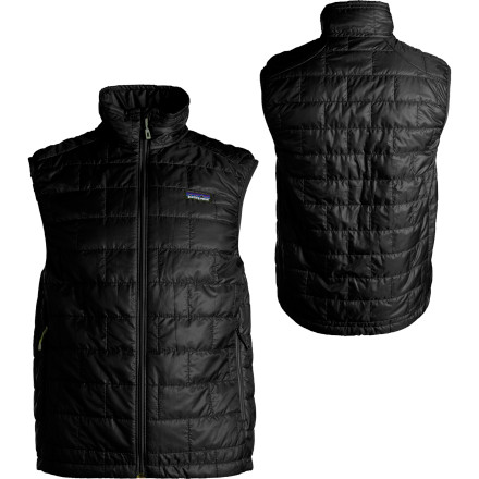 Its so cold that it the air feels like hundreds of needles poking you right through your shell. So zip into the Patagonia Mens Nano Puff Vestit shields your core from the cold. The PrimaLoft insulation holds heat in and makes the Nano Vest extremely compressible so you can bust it out of your pack if the temperature drops. - $149.00