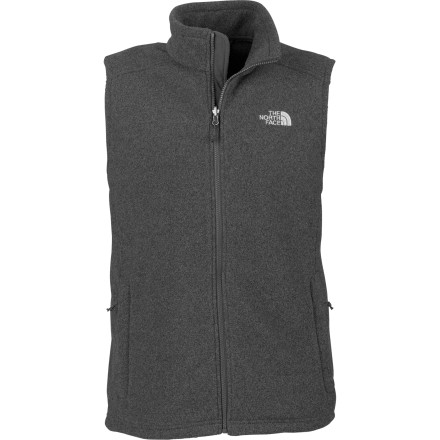 Ski The North Face Men's Khumbu Fleece Vest is all about versatility. Thanks to its midweight insulation and streamlined design, this comfy vest won't see much closet time come fall. Wear the it over a long-sleeve shirt for chilly bouldering sessions or layer it under your shell for core warmth on long ski tours. Its standard fit gives you freedom to move on the rock, but doesn't bulk up too much, so you don't look like a puff ball on the slopes. The Khumbu Fleece Vest is also compatible with zip-in TNF jackets for hassle-free layering. - $45.47