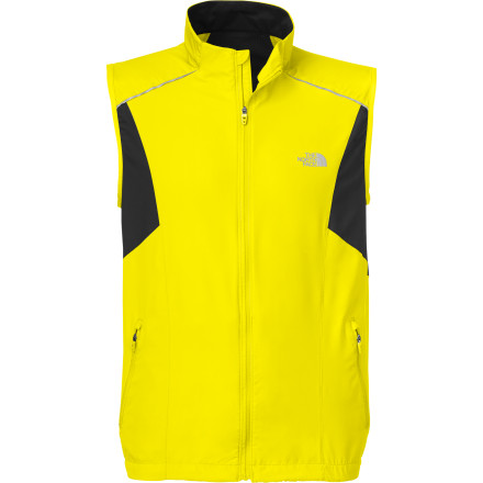 Fitness Every morning you plunge through the fog of sleepiness into an exhilarating run. When the chill and wind grip your trail or neighborhood, The North Face Torpedo Vest uses its sleeveless design, weather-resistant softshell fabric, and body-mapped ventilation to achieve a happy medium of warmth, protection, and breathability. Where fleece jackets would let in too much drizzle and wind and windbreakers would leave you sweaty and stuffy, the Torpedo excels. - $48.72