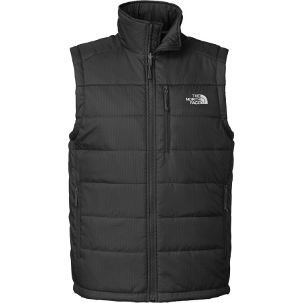 Ski When your snow shell needs an extra few degrees of warmth for the frigid mornings on the mountain, you can slip on The North Face Redpoint Insulated Vest and take laps without freezing on the super-duper-ultra-high-speed chairlifts. Made for layering, this vest's recycled synthetic insulation locks in your core's warmth to keep the rest of your body prime to ski, hike, or just get through your cold commute. - $64.32
