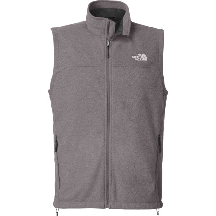 Camp and Hike Sometimes the winter wind feels like ninja stars slicing through your core, but The North Face WindWall 1 Fleece Vest slows the cruel attack without slowing down your aerobic hike, run, or tour through the backcountry. Wind-resistant exactly where you need it, this WindWall-equipped vest helps keep your core temperature up so you can keep your pace. Since it's a vest, it's easy to slip on and off, fits into small packs, and works well as a mid-layer under your snow jacket. - $69.27