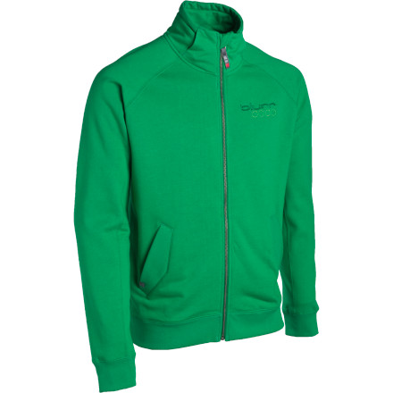 The Blurr Cable Jacket acts as a warmup jacket on chilly approaches and as a pile-jumping jacket once the leaves start to turn. The organic cotton and recycled polyester fabric give Mother Earth high-fives, while the thick knit boosts your body temps when the thermometer dips. - $41.98