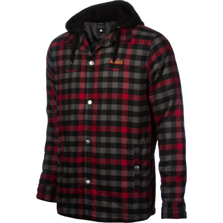 Your early '90s grunge rocker uncle would be proud. The DC Fernwood Quilted Tech Flannel offers all the protection of a lightweight puffy and all the style of a Seattle-based dirtbag band. - $80.50