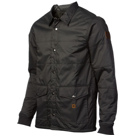 Rock some low-key workwear style with the DC Ronin Jacket. Features a water-resistant coating for extra function on the mountain or just around town. - $47.70