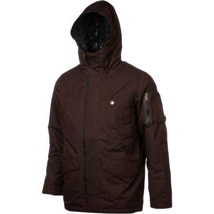 Your full-blown winter jacket feels like overkill on the street, even during the winter. Instead, reach for the Oakley Men's Velocious Jacket. With water-resistant shell material, light insulation, and more pockets than you'll find on an army of marsupials, this jacket keeps you warm and dry in the city or when you're cruising the resort village on a chilly night. - $112.00