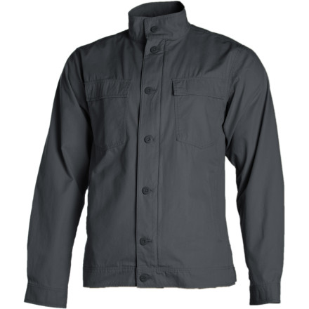 Made to handle just about any situation that you can throw at it, the Patagonia Generalist Jacket fits in at the high-class soiree as easily as it does at the county-fair rodeo. Pair this all-wear organic cotton jacket with jeans and boots, and you're ready for anything. - $59.50