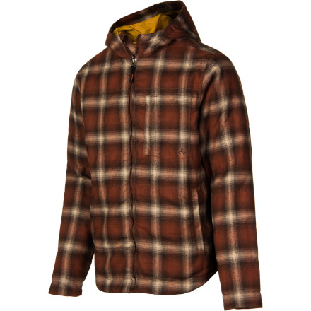 Climbing After you climb out of your tent, zip up in the prAna Minor Jacket and to push back the cold. This filled jacket will keep you warm while you start the coffee and watch the sunrise. - $81.92
