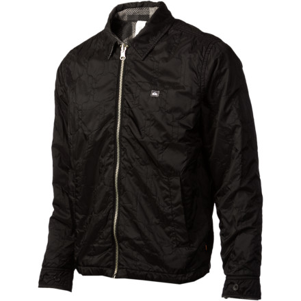 Surf The Quiksilver Waterman Narrabeen Reversible Jacket lets you change your lookand not just a little. The two sides of the Narrabeen are so totally different that nobody will suspect you of wearing the same jacket. Now you can rob that bank you've been talking about for years. - $77.40