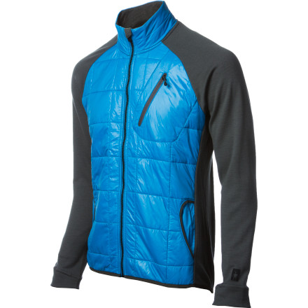 Entertainment Move over, down and polyfilthe SmartWool PhD SmartLoft Divide Full-Zip Top maximizes the versatility of merino wool to keep you warm in brutally cold weather. Wear this zip-up as a heavyweight baselayer when you're skiing or climbing in extreme conditions. Or, wear it by itself and let the DWR-treated front panel shield you from wind and light snow. Either way, this versatile layer capitalizes on a smart mixture of wool and synthetic fibers to ensure maximum performance in a wide range of conditions. - $199.95