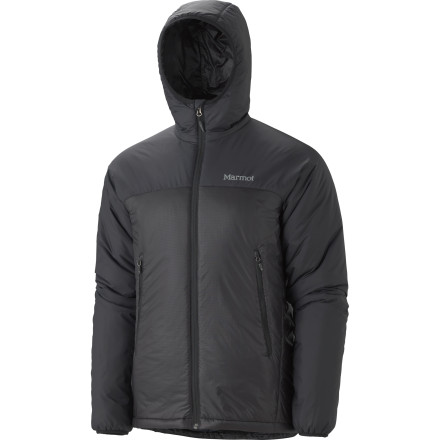 Ski Whether you're braving the chilly winter air for a late-night snack run, or sitting at the trailhead waiting for your buddy to figure out where he stashed his other ski pole, the Marmot Baffin Hoody Jacket will keep you warm and dry with Thermal R Eco insulation and durable water repellant finish. - $139.97