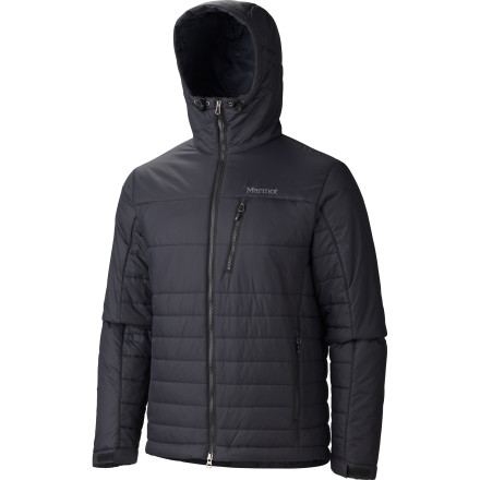 Whether you are braving the cold as you contemplate a drop from a cornice or are just trying to get through a northern winter, the Caldera Hooded Insulated Jacket uses warmth-trapping Thermal R Eco insulation to preserve your body heat. Wear it under a shell or on its own; either way, you're doing a small part for the planet by opting for materials made from recycled plastic. - $111.97