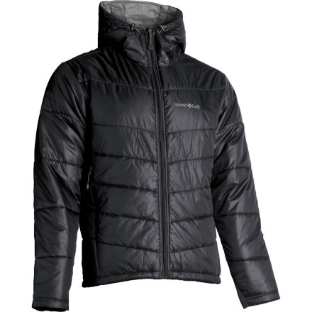 Ski For tough, lightweight insulation on the go, get hip to the Montbell Thermawrap Pro Insulated Jacket. Weighing in at just about a pound, the Thermawrap Pro compresses well for storage in your backcountry ski bag. Synthetic insulation helps you retain warmth even if it gets wet. - $174.95