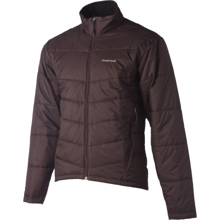 If the MontBell Men's Ultralight Thermawrap Jacket were a prize fighter, it would bring the heat in the sub-nine ounce category of insulated jackets. Lightweight shell material and synthetic insulation keep this jacket ultralight and highly packable. Whether you're layering under a shell for a bike ride downtown in the winter, or planning a multi-day hut hopping trip, this jacket brings reliable core warmth amidst variable cold-weather conditions. - $154.95