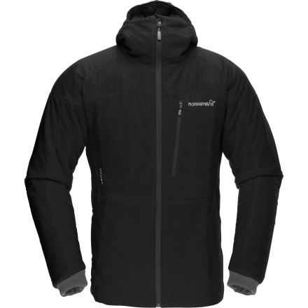 Goose down is warm, no doubt about it, but unlike those feather-filled jackets the Norrona Lofoten Primaloft100 Jacket won't clump up and freeze when wet. And with a windproof exterior, in mild weather it can be worn as an outer layer, if you're unafraid of unhappy fowl. - $214.83
