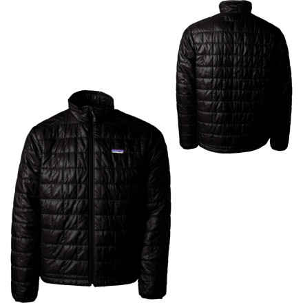 Ski The watch alarm beeps loudly in your ear. Hit the off button and reach for the Patagonia Mens Nano Puff Insulated Jacket. Nobody else dares to venture out of his or her toasty sleeping bag, but this lightweight and warm jacket helps you motivate and get ready for a full day of backcountry skiing. - $199.00