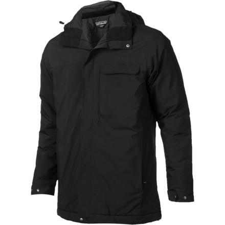 The Patagonia Conifer Insulated Parka's PrimaLoft Eco insulation and WindStopper fabric provide a formidable barricade against winter's blustery chill. - $259.35