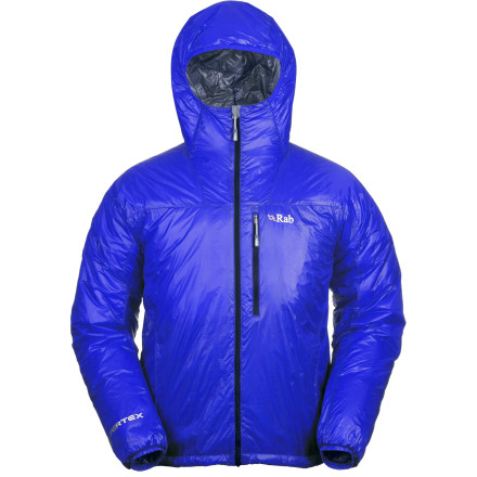 It's simple and sleek, and yet you may find that with its silky softness and lightweight warmth you don't want to go anywhere without the Rab Xenon Insulated Jacket. But with water-and wind-resistance and breathability, it makes sense. Good thing it also stuffs nicely into its pocket. - $259.95