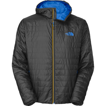 The North Face Blaze Micro Hooded Insulated Jacket is amazing because of what it isn't. It isn't heavy and it isn't bulky. That means you can layer over it and you won't look like you've spent the last month at the ice cream shop. It also means you can stash it in your pack and you won't even know it's there until the temperature drops and you need it. - $109.42