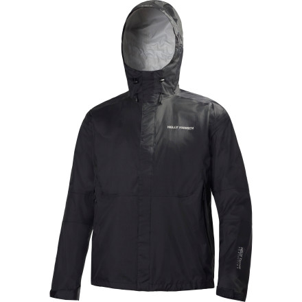 Camp and Hike Rain can turn any short day hike into a long, trying test of your patience and immune system. When you bring along the Helly Hansen Ancorage Light Jacket, it ensures you stay dry and healthy despite the crappy weather. - $119.95