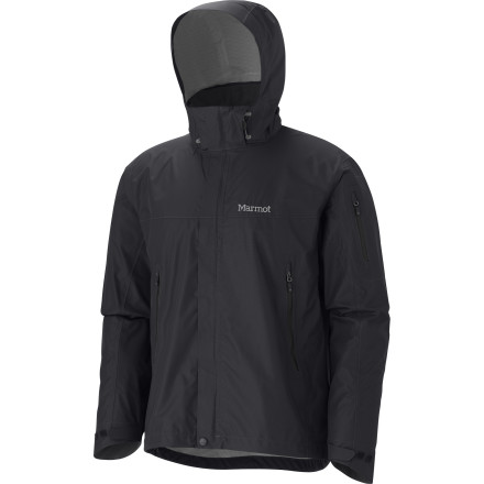 Grab the Marmot Aegis Jacket when the weather really starts to move in. This lightweight rain jacket will keep you dry with Marmot MemBrain Strata waterproof breathable fabric. - $164.95