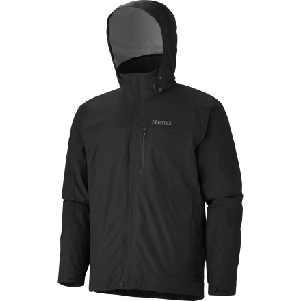 Camp and Hike Trust the Marmot Men's Oracle Jacket to keep you dry and comfortable during your spring and fall hiking adventures. Marmot sized the Oracle to fit over a fleece or mid-layer, so you can pull it out of your pack when a storm whips up and put it on over your sweater to keep your insulation insulating. - $184.95