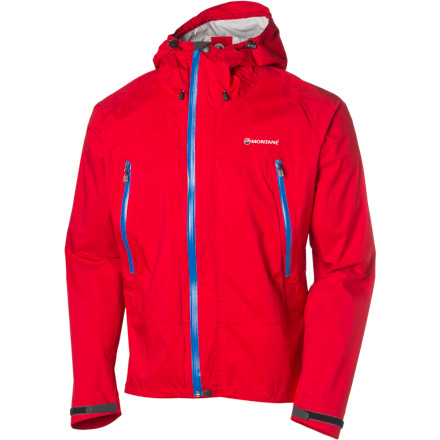 The light, tough, and packable Montane Atomic Stretch Jacket not only protects you from inclement weather, it does so without compromising your ability to move. - $268.95