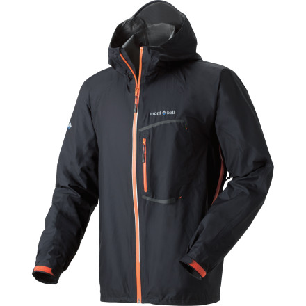 When those dark clouds rolling down the canyon start pouring on you, you'll be glad that you packed your MontBell Men's Torrent Flier Jacket. This lightweight, carefully designed rain jacket uses some of the best technology available (Gore-Tex Paclite, for one example) to keep you dry when the clouds hit. - $224.95