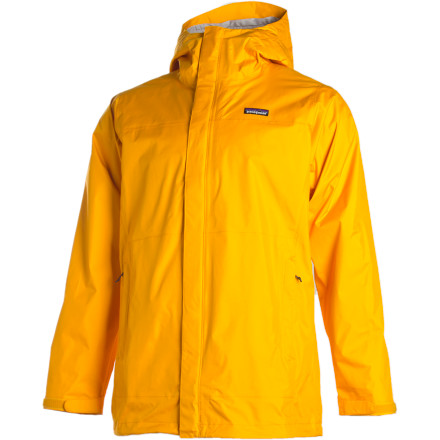 Camp and Hike From Springer Mountain to Katahdin, the Patagonia Torrentshell Parka offers three-season rain protection as you thru-hike your way up the east coast. The H2NO barrier and Deluge DWR finish protect you from late spring snow-storms to early fall rain showers. - $74.50