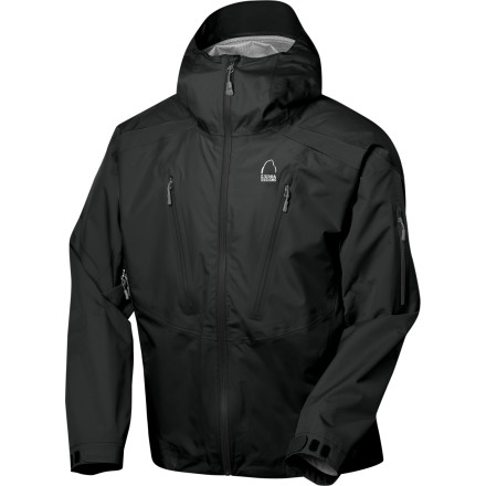 Whether your trail takes you to a beautiful alpine vista in the Canadian Rockies or a rainy jungle in South America, protect yourself from the elements with the Sierra Designs Jive Jacket. This jacket comes with 10,000-millimeter-rated Cocona Xcellerator fabric to shield out the storm so you can tune into your beautiful surroundings. - $139.48