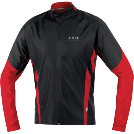 Fitness A fall run or spring hike is more likely than not to be interrupted by a chilly breeze or a light shower. The GORE RUNNING WEAR Men's Air So Shirt uses a thin softshell fabric to fend off light weather without weighing you down. - $71.47