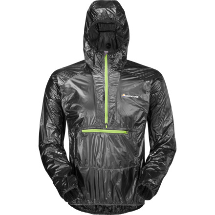 Set out on your two-wheeled steed with the Montane Slipstream GL Smock securely zipped up, or stash it in your pack for some off-road riding. Thunderheads didn't keep you in bed this morning, so they shouldn't kick you off the single-track. Especially if you're sporting your armor. - $158.95