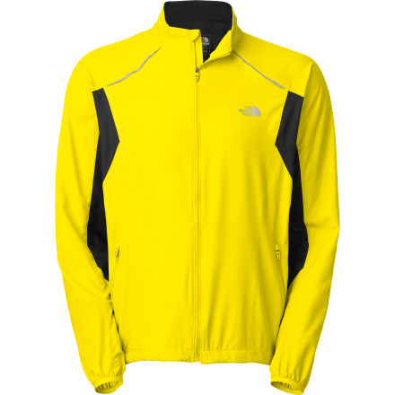 Fitness The North Face Torpedo Jacket keeps the wind and light rain from sapping your strength when the weather isn't ideal but you need to get a run in. The Torpedo's wind- and water-resistant fabric features body-mapped ventilation to let the air flow around your body to help it regulate temperature. Reflective elements make you more visible at night, and the ambidextrous back pocket adds much-needed storage space for extra water or a snack. - $98.95