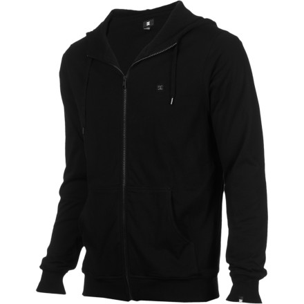 The DC Men's Higher Full-Zip Hoodie is a super-plush answer to those late-fall nights. - $35.70