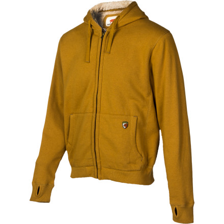 You spend more time outside then inside, so you prefer the comfort and style of the Dakota Grizzly Mens Tacoma Full-Zip Hooded Sweatshirt. Heavy duty Sherpa fleece lining keeps the bitter chill away and its simple design makes it easy to wear when you chop firewood, build a fire, or prepare your catch for dinner. - $74.95