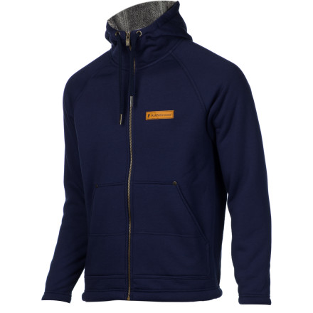 Sports High-pile lining in the Peak Performance Men's Cody Pile Full-Zip Hoodie makes it warm enough for chilly evenings on the town or warm (ish) days in the terrain park or even traditional Thanksgiving-day family football games. - $93.47