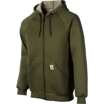 It's understandable that you have a hard time going outside without your trusty cold-weather work jacket, but wearing it all year long would be overkill. Carhartt made the Men's Carlux Sweatshirt extra heavy, extra plush, and extra warm for those shoulder-season days. - $59.95