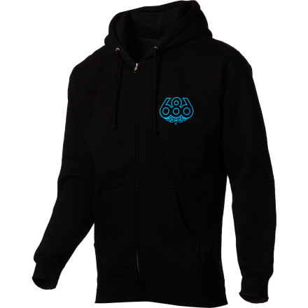 686 Outlined Full-Zip Hoodie - Men's - $32.97