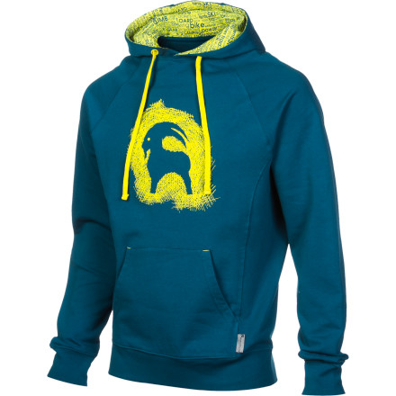 Camp and Hike You and your old, trusty pullover are inseparable for now, but the Backcountry.com Men's Outlay Pullover Hoodie is here to change that. Soft on the inside, smooth on the outside, and just heavy enough to take the bite out of chilly mornings in camp, the Outlay has a strangely powerful level of comfort. You'll find yourself wearing it at the trail head, in camp, at home, on the plane, at work, and anywhere else you can justify wearing a hoodieit's just that good. - $27.49