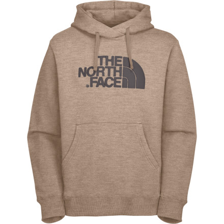 After a long autumn day on trail, take a hot shower, pull on The North Face Greenwich Hooded Sweatshirt, and invite the crew over for a potluck BBQ. - $43.97