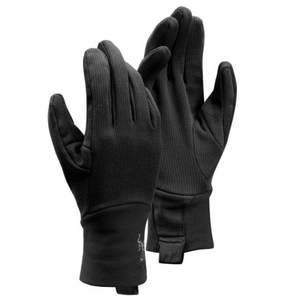 When you need protection for an afternoon in the snow but don't intend to scale Everest, pull on the Arc'teryx Rivet AR Glove. This all-around weather warrior features a DWR finish to shed water, and its smooth outer face means you can layer up easily if the cold demands it. Arc'teryx built the Rivet with stretch fabric and an articulated fit for maximum mobility and fun times in the snow. - $49.95