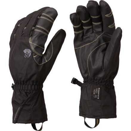 Ski Warm, low-bulk, three-season outdoor gloves don't come along often, and the Mountain Hardwear Epic Glove proves itself one such rarity. Dexterity, warmth, and protection from the elementsthis glove delivers it all whether you're on a rain-soaked backpacking trip or a slog through waist-deep snow during a late-season spring snowstorm. - $64.95