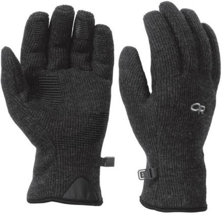 The Outdoor Research Mens Flurry Glove keeps your hands toasty and comfortable whether youre enjoying a bluebird winter day or cruising around town on a blustery afternoon. Made with a soft yet functional blend of wool and nylon with a fuzzy fleece lining, the Flurry wicks moisture while insulating against the cold. Outdoor Researchs MotionWrap palm ensures a snug, cozy fit with full dexterity. - $37.95