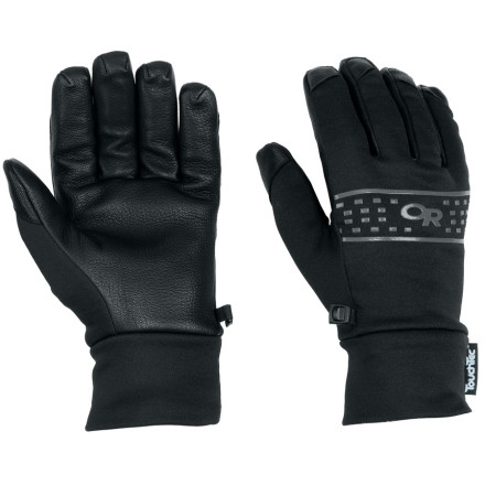 When it's time for cold weather yard work, pull on your Outdoor Research Sensor Gloves and get out there. Designed with a comfortable polyester and spandex blend combined with tough leather, the Sensors live up to their name by allowing you dexterity and range of motion while keeping you warm. Tricot palm linings add next-to-skin comfort and moisture management for when leaf-raking has you in a sweat. - $68.95