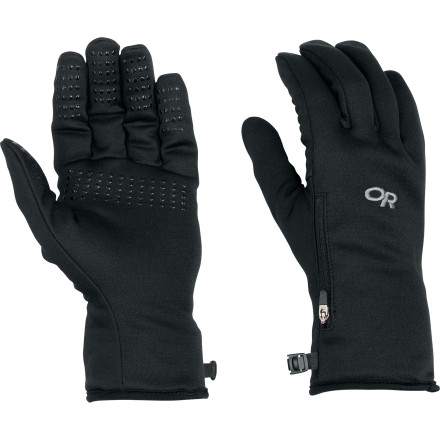 The Outdoor Research Women's VersaLiner Glove comes with a removable waterproof shell to make this one of the most versatile (get it' Versaliner') gloves that you'll ever meet. Wear the Versaliner alone, with or without the shell, depending on the weather. Or you can wear the Versaliner inside a glove or shell, with or without the shell, also depending on the weather. - $48.95